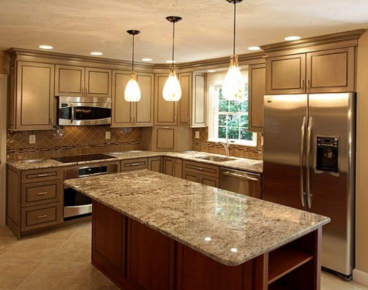 I-shaped kitchen