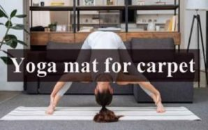 Yoga mat for carpet