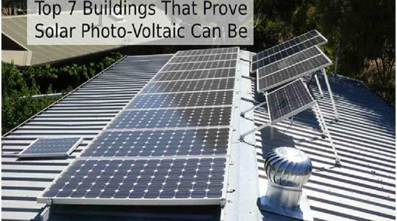 Solar Photo-Voltaic