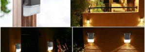 Outdoor security lighting